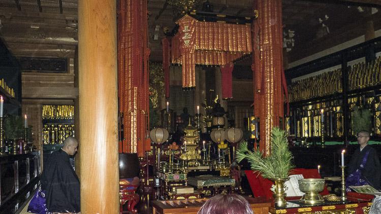 Koyasan cérémonie 1