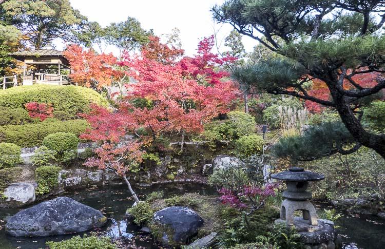 Nara, jardin Isuien 12