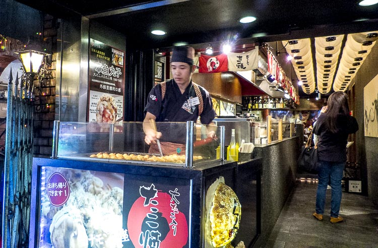 Dotonbori takoyaki