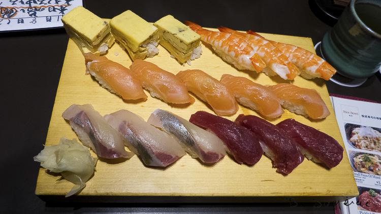 Sushis à Tokyo