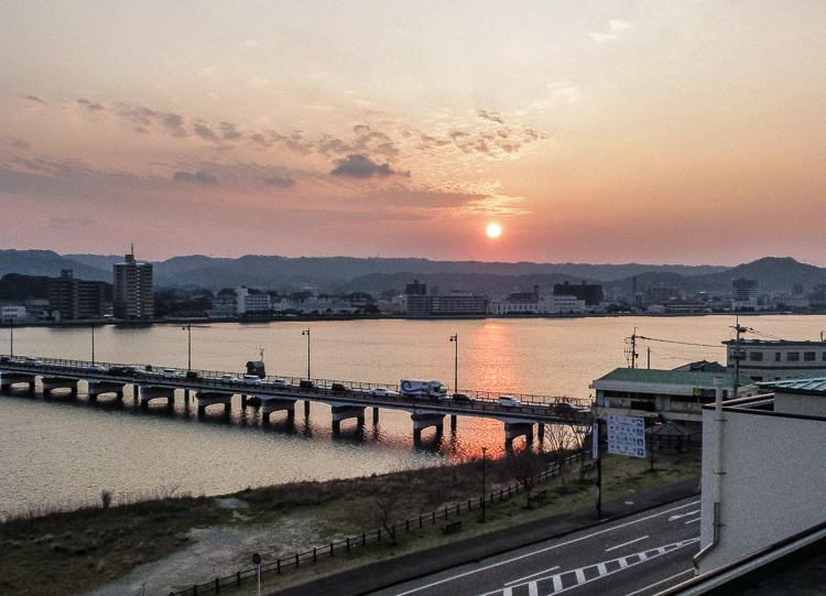 Karatsu 18 coucher soleil