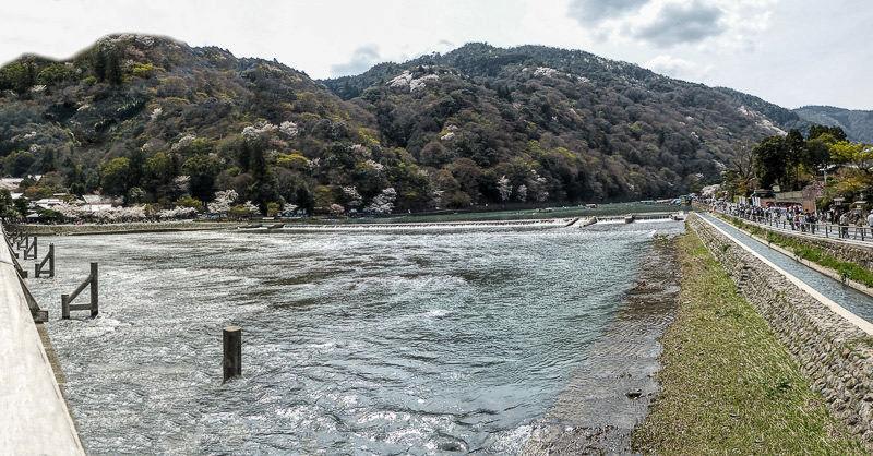 Arashiyama pano printemps