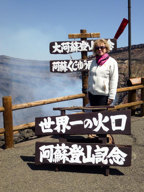 Brigitte volcan Aso 2