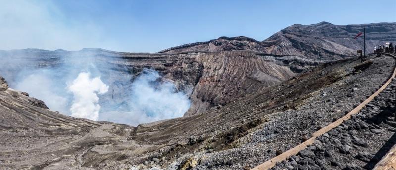 volcan Aso Naka-dake 2
