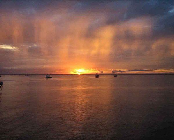 lever de soleil 2 à Miri