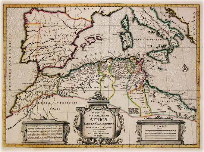 carte de la méditerranée antique