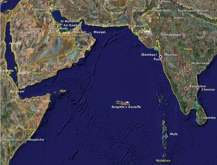 Brigitte en mer d'Arabie