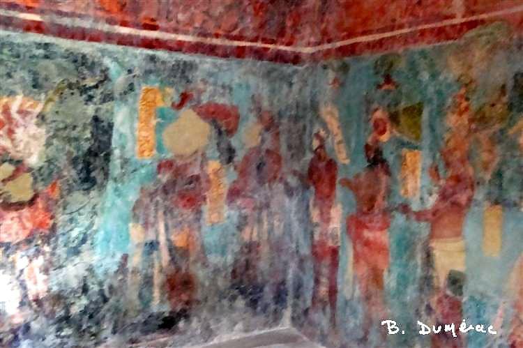 Bonampak : fresque 2