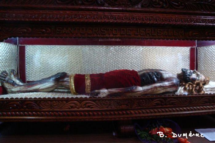Christ couché à Puebla