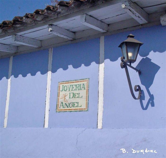 Coin de rue à Antigua