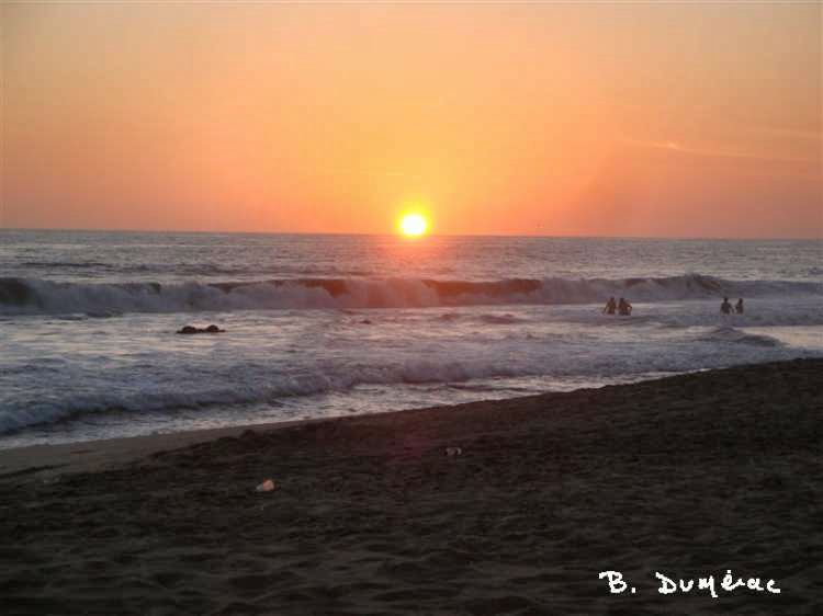Coucher de soleil à Acapulco