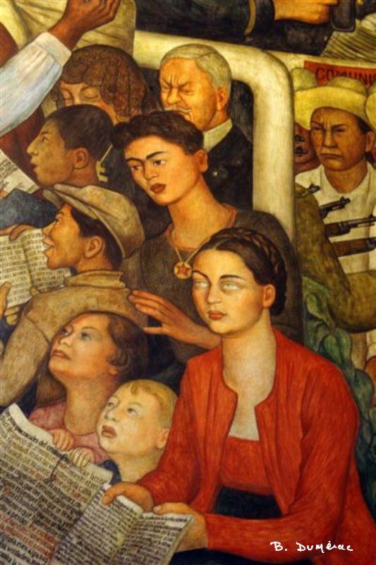 Diego Rivera, détail
