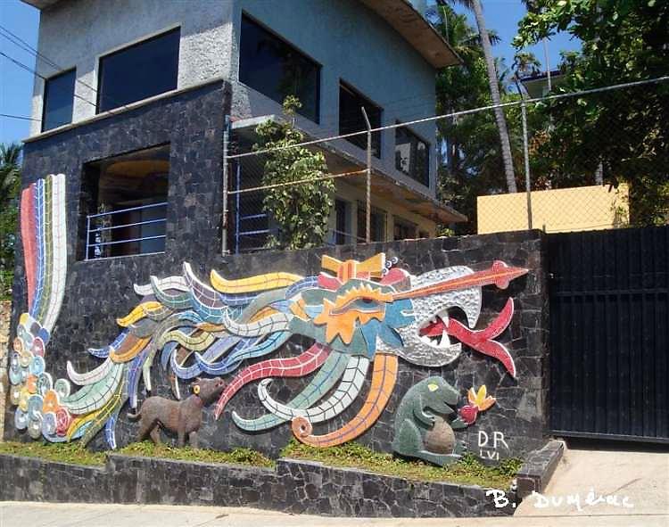 Fresque de Diego Riveira à Acapulco
