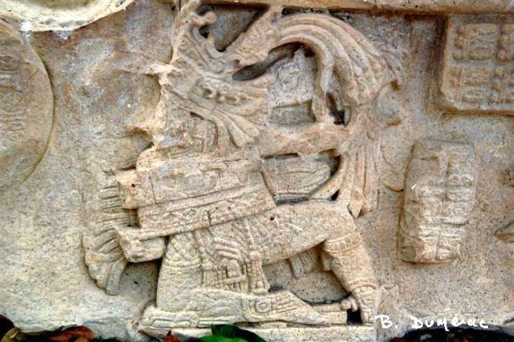 Guerrier Yaxchilán