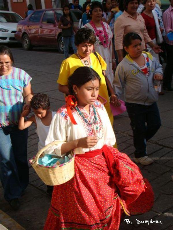 Jeune fille San Cristobal