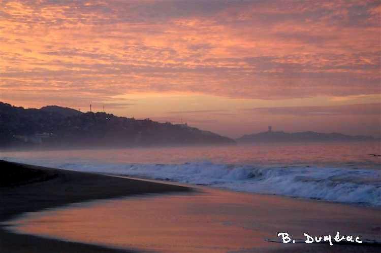 Lever de soleil sur Acapulco