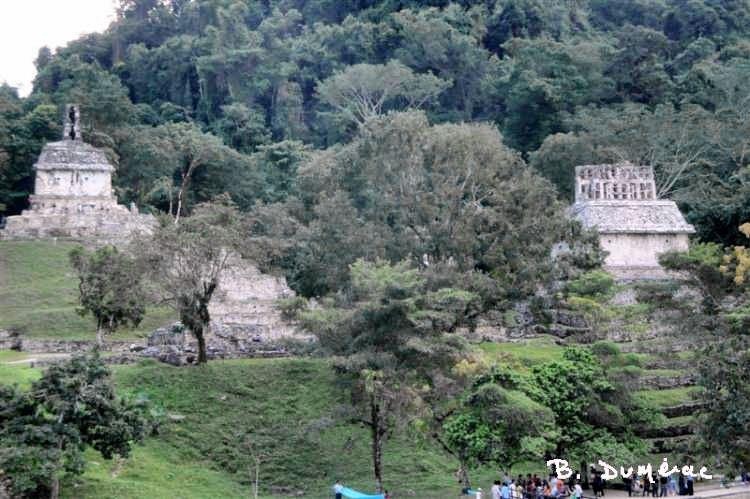 Palenque 3 petits temples