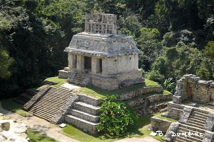Palenque temple du Jaguar