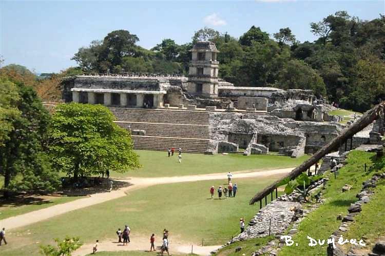 Palenque palais