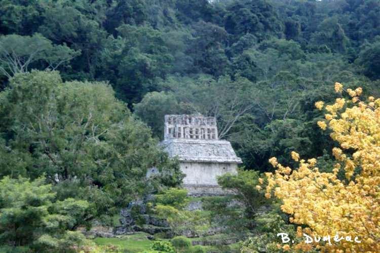 Palenque temple de la croix foliée