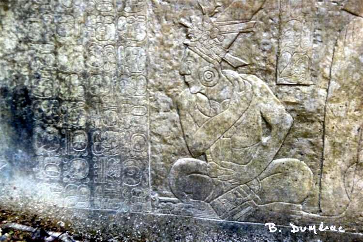 Palenque bas-relief