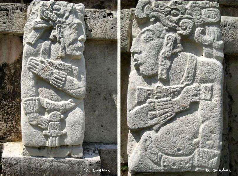 Palenque stèles
