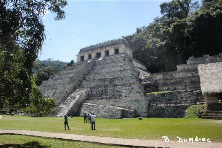 Palenque temple inscriptions