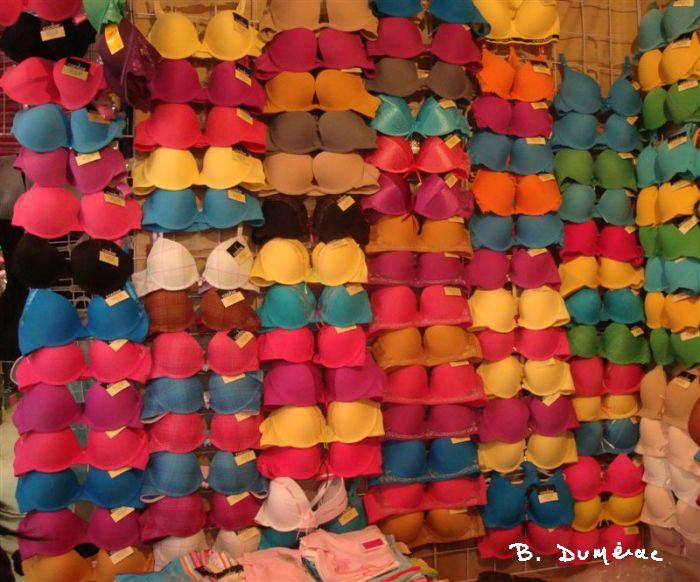 Petites tenues au marché