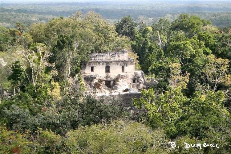 Pyramide oubliée dans la jungle
