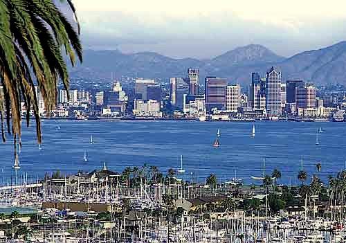 Vue de San Diego
