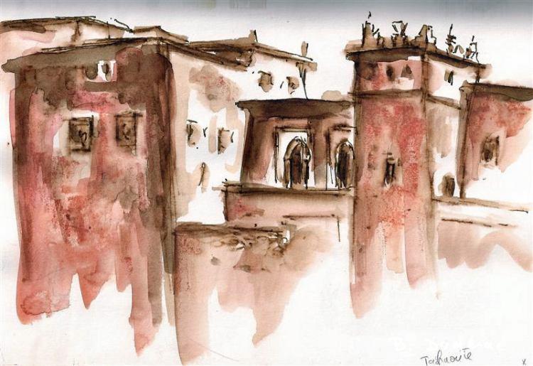 Aquarelle Maroc 4