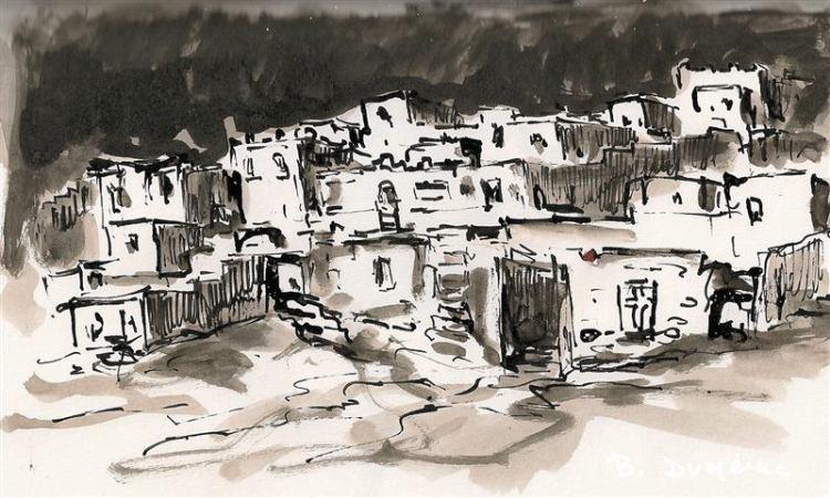 Aquarelle Maroc 15