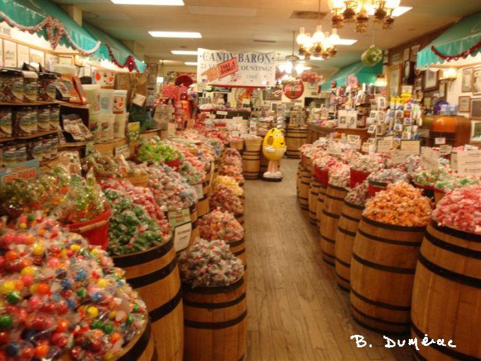 magasin de bonbons
