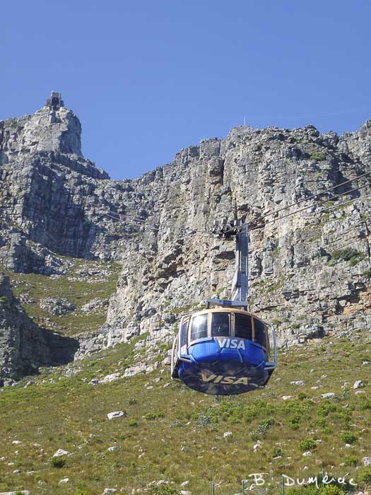 Accès à Table Mountain