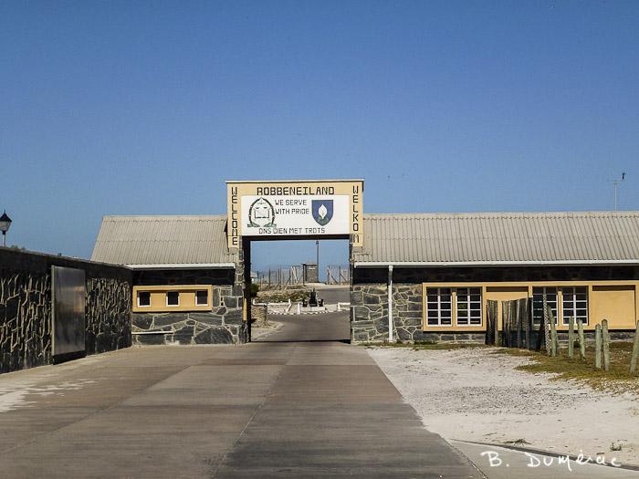 Entrée prison Robben Island