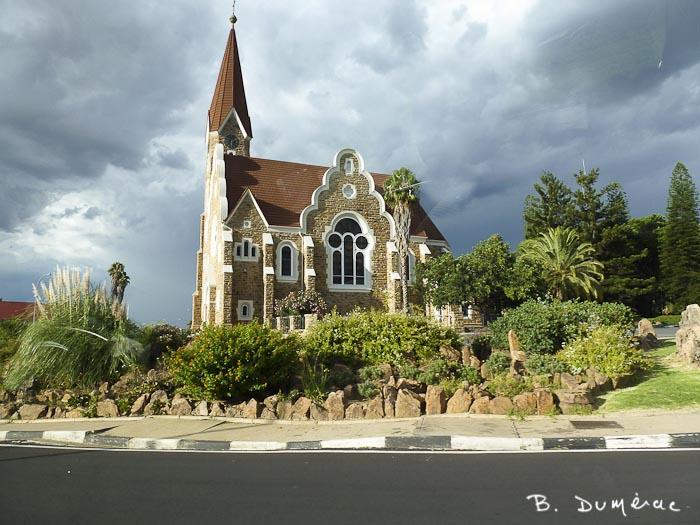 Eglise luthérienne à Windhoek