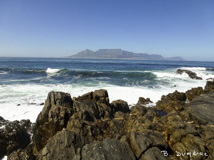 Vue depuis Robben Island