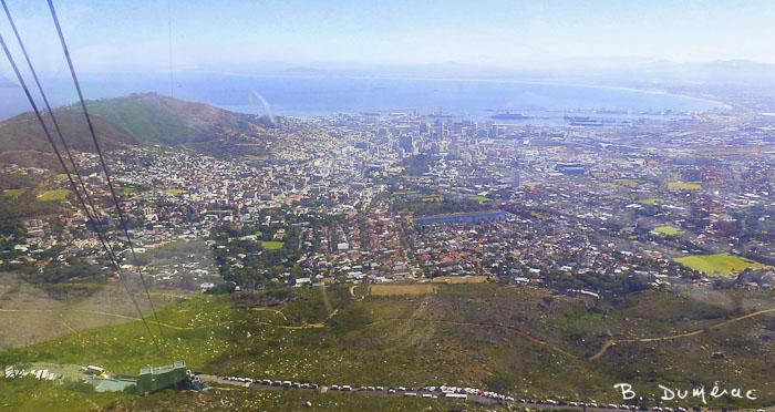 Vue depuis Table Mountain 1