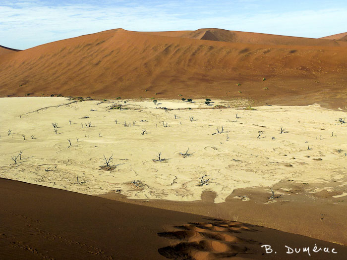 Dead Vlei, Namibie