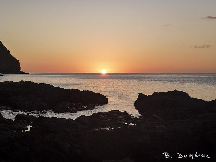 Coucher de soleil à Ste-Hélène