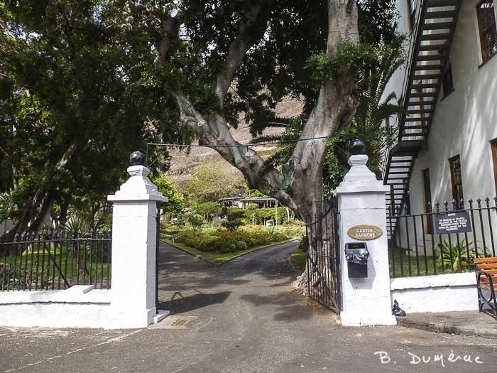 Jamestown, entrée petit parc