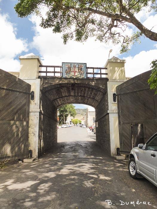 Porte d'entrée de la ville de Jamestown