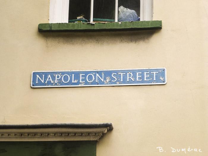 Jamestown, rue Napoléon