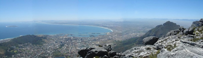 Vue depuis Table Mountain 2