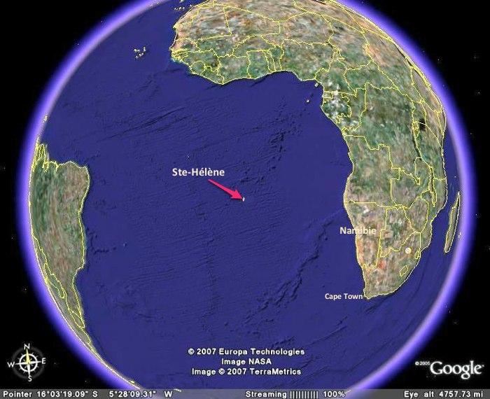 Voyage Namibie-Ste-Hélène
