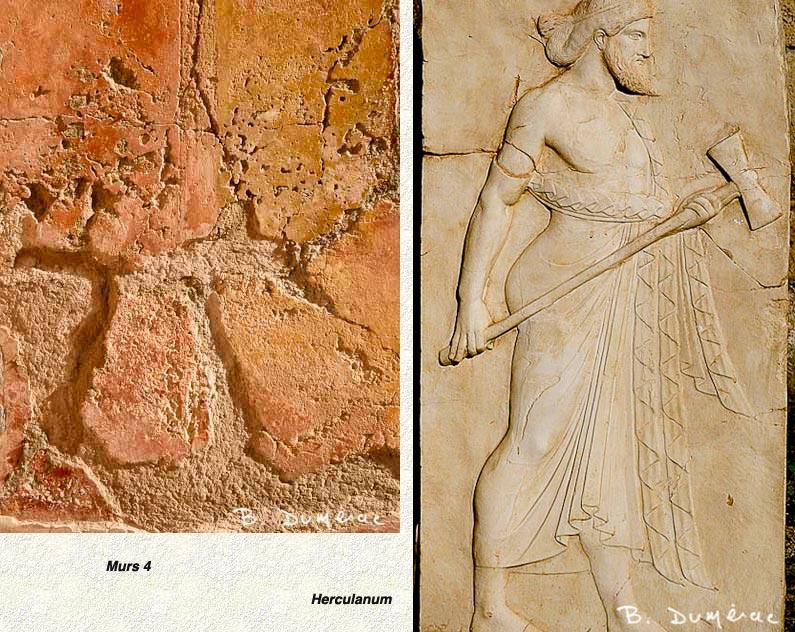 Herculanum et mur