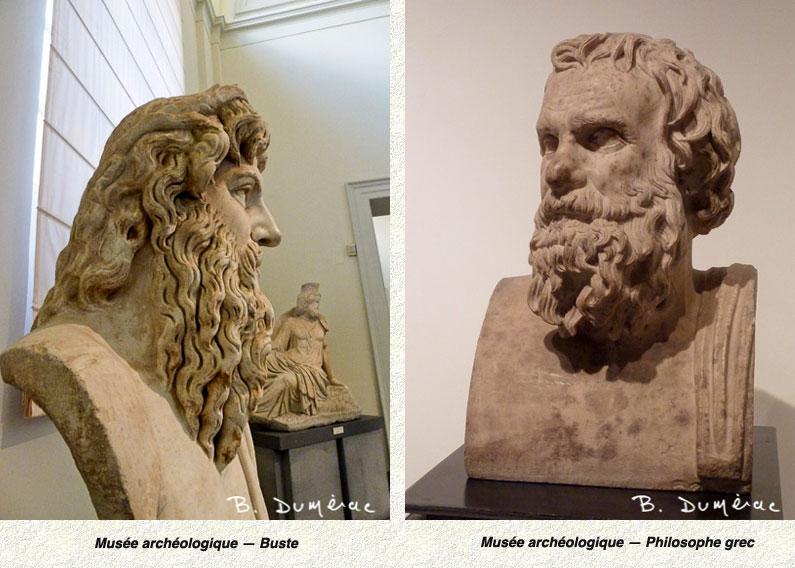Bustes Musée Naples