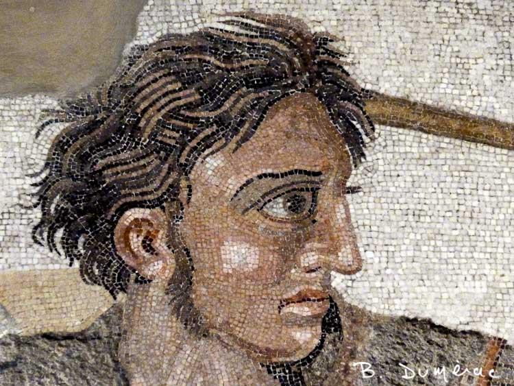 Alexandre le Grand mosaïque