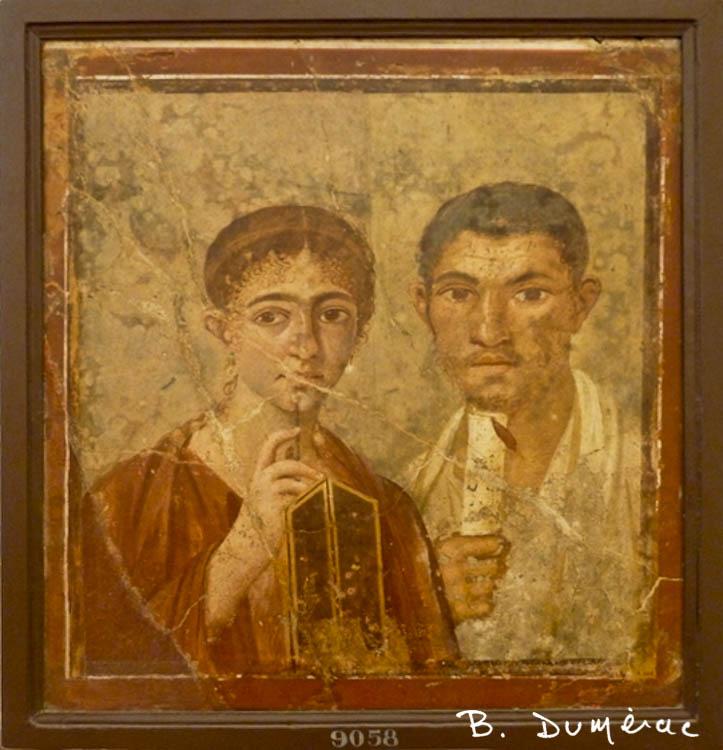 Le boulanger et sa femme Naples
