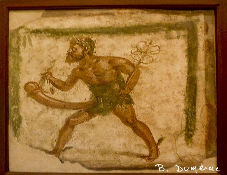 Musée archéologique Naples cabinet érotique